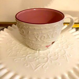 Rare Starbucks Relief Valentines Mug 2007